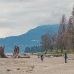 Пляж с малой архитектурной формой