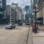 Вид на Вест Кордова Стрит