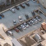 Многоэтажные парковки, тоже очень «киношные»