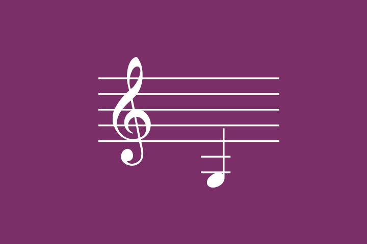Соответствие нот и клавиш фортепиано